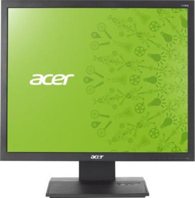 Монитор Acer V193LAOB (UM.CV3EE.A04) - фронтальный вид