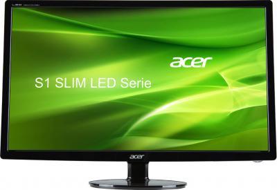 Монитор Acer S271HLCBID (UM.HS1EE.C01) - фронтальный вид