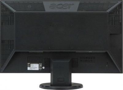 Монитор Acer V243HQLBD (UM.UV3EE.002) - вид сзади