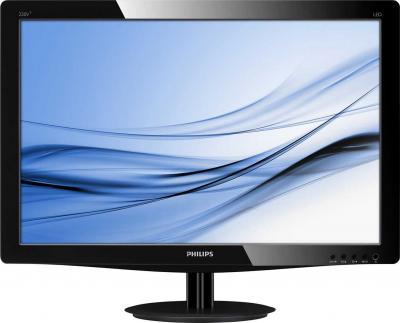 Монитор Philips 220V3LSB/01 - фронтальный вид