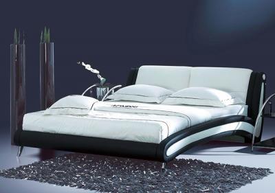 Двуспальная кровать Королевство сна Beatriche А1055 180х200 (черная) - в интерьере