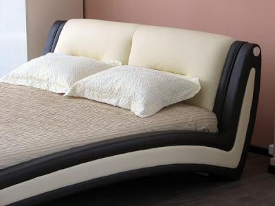 Двуспальная кровать Королевство сна Beatriche А1055 160х200 (коричневая) - в интерьере