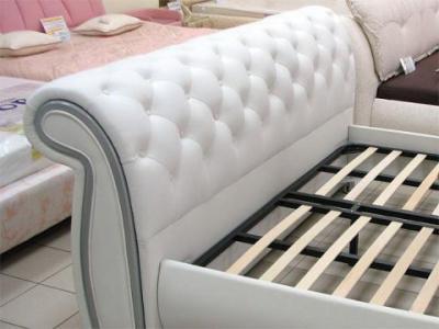Двуспальная кровать Королевство сна K630 180х200 (белая, подъемный механизм) - основание