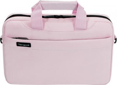 Сумка для ноутбука Targus Slim Netbook Case Pink (TSS18003EU) - вид спереди