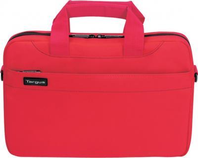 Сумка для ноутбука Targus Slim Netbook Case Red (TSS18004EU) - фронтальный вид