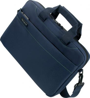 Сумка для ноутбука Targus Slim Netbook Case Blue (TSS18005EU) - вид спереди