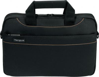 Сумка для ноутбука Targus Slim Netbook Case Black (TSS180EU) - вид спереди