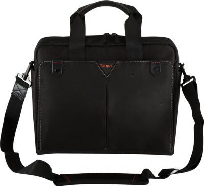 Сумка для ноутбука Targus Classic + Toploading Black (CN514EU-50) - фронтальный вид