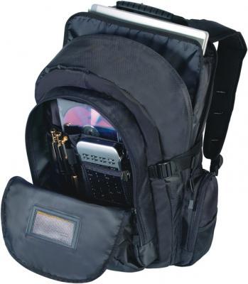 Рюкзак для ноутбука Targus CN600 Classic Backpack Notebook Case Black - вид изнутри