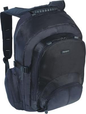 Рюкзак для ноутбука Targus CN600 Classic Backpack Notebook Case Black - общий вид