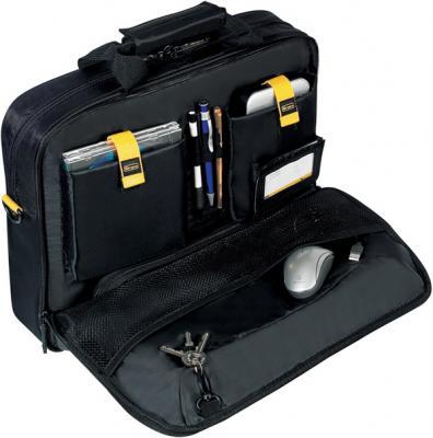 Сумка для ноутбука Targus TCG300 Black - изнутри второй карман