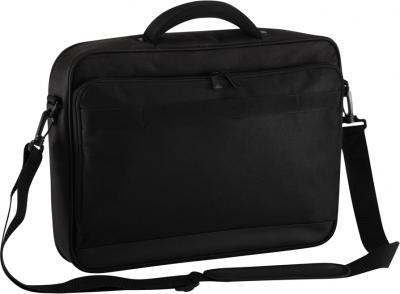 Сумка для ноутбука Targus Classic + Clamshell Case with File Section Black (CNFS415EU-50) - вид сзади