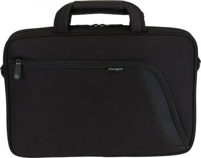 Сумка для ноутбука Targus Eco Spruce Slipcase TBS045EU-51 (черный) - вид спереди