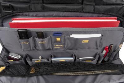 Сумка для ноутбука Targus Revolution Toploading Case Black (TTL316EU-50) - изнутри