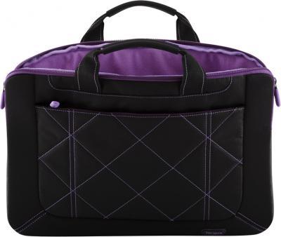 Сумка для ноутбука Targus Pulse Black-Purple (TSS57401EU-50) - изнутри