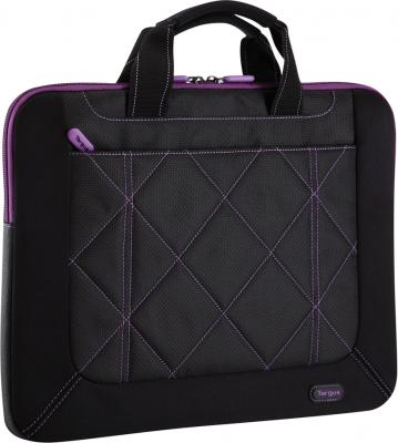 Сумка для ноутбука Targus Pulse Black-Purple (TSS57401EU-50) - общий вид
