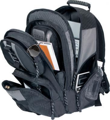 Рюкзак для ноутбука Targus Sport Computer Backpack Black-Gray (TSB212-60) - с открытыми карманами