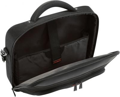 Сумка для ноутбука Targus Classic + Clamshell Case with File Section Black (CNFS418EU-50) - вид изнутри