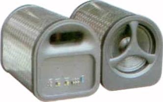Корпусной активный сабвуфер Welltop BX-89-8 - общий вид