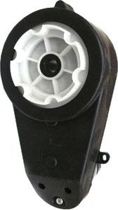Мотор с коробкой передач для электромобиля Sundays  (для JS007, JJ012, B28A, B28B) - общий вид