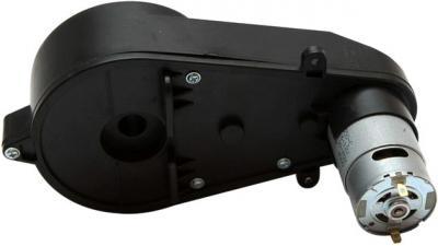 Мотор с коробкой передач для электромобиля Sundays JE118 - вид сзади