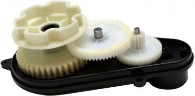 Мотор с коробкой передач для электромобиля Sundays JE118 - в разобранном виде