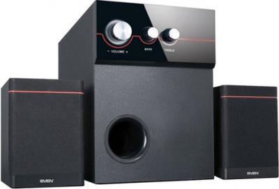 Мультимедиа акустика Sven MS-309 (черный) - общий вид