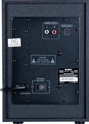 Мультимедиа акустика Sven MS-309 (черный) - вид сзади