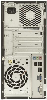 Готовое рабочее место HP 3500 MT (C5Y11EA) - системный блок, вид сзади