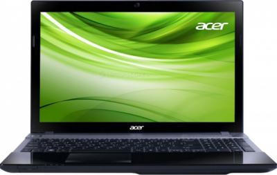 Ноутбук Acer Aspire V3-771G-33124G50Makk (NX.M6QEU.001) - фронтальный вид