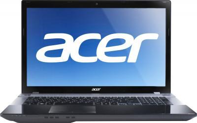 Ноутбук Acer Aspire V3-771G-53238G75Maii (NX.M6SEU.001) - фронтальный вид