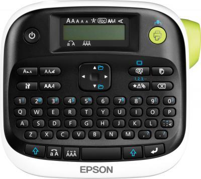 Ленточный принтер Epson LabelWorks LW-300 - фронтальный вид
