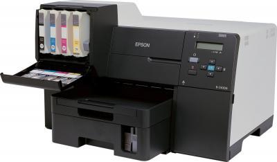 Принтер Epson Stylus B-510DN - общий вид с картриджами