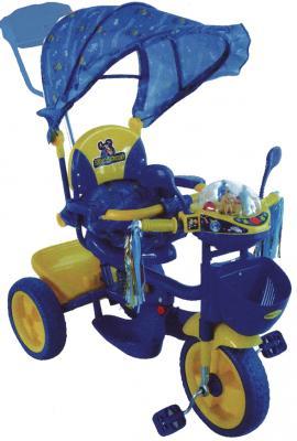 Детский велосипед с ручкой Elite Cycle ЕТ128В-18 Синий - диски колес металлические