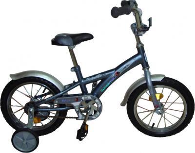 Детский велосипед Novatrack Х44103 Серо-Серебристый - общий вид
