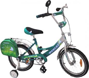 Детский велосипед Фрегат BF-1402 Зеленый - общий вид