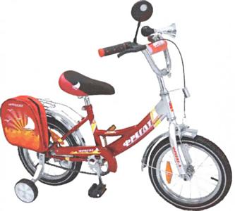 Детский велосипед Фрегат BF-1402 Красный - общий вид