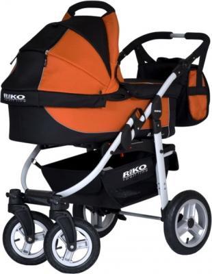 Детская универсальная коляска Riko Amigo (Orange) - люлька