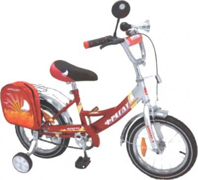 Детский велосипед Фрегат BF-1602 Красный - общий вид