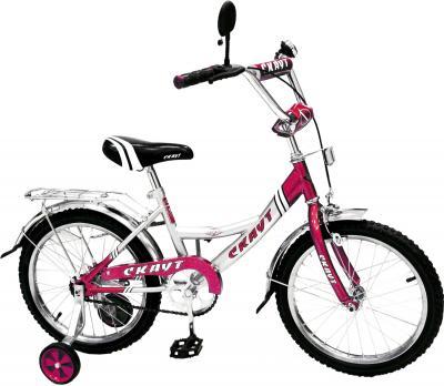 Детский велосипед Скаут BC-162 Розовый - общий вид