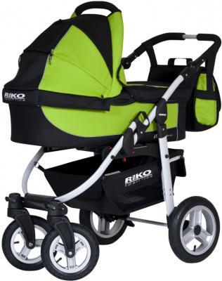 Детская универсальная коляска Riko Amigo (Lime) - общий вид