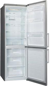 Холодильник с морозильником LG GA-B439YLCA - внутренний вид