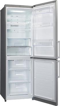 Холодильник с морозильником LG GA-B439YMQA - внутренний вид