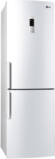 Холодильник с морозильником LG GA-B439YVQA - общий вид