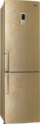 Холодильник с морозильником LG GA-B489ZVTP