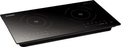Электрическая настольная плита Oursson IP2310T (черный) - общий вид