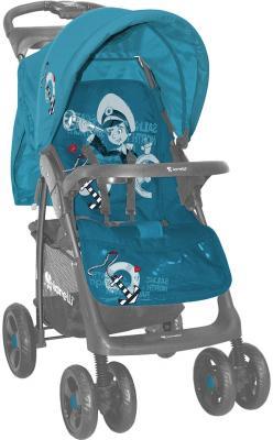 Детская прогулочная коляска Lorelli Foxy (Blue Captain) - общий вид