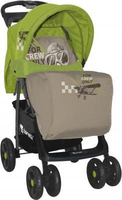 Детская прогулочная коляска Lorelli Foxy (Caramel Green Pilot ) - чехол для ног
