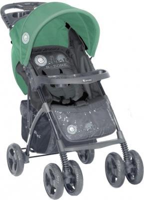 Детская прогулочная коляска Lorelli Foxy (Gray Green B-Zone) - общий вид