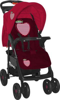 Детская прогулочная коляска Lorelli Foxy (Red Apple) - общий вид